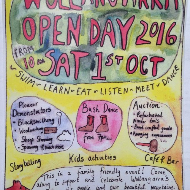 Wollangarra Open Day is coming up Saturday 1st of Octoberhellip